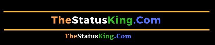 the status king Status in Hindi